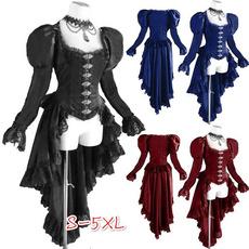 GOTHIC DRESS, Fashion, Lace, Long Sleeve