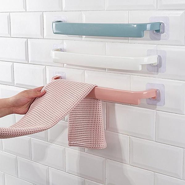 Bathroom, Hangers, Door, bathtowelrack