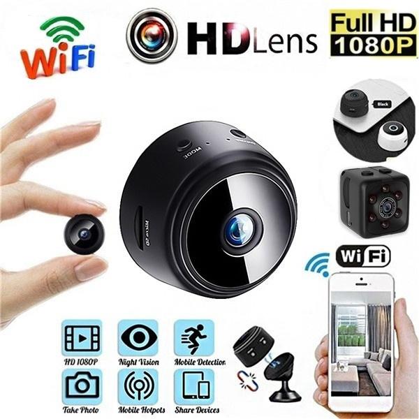 Mini, microcamera, Remote, Monitors