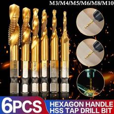 businessampindustrial, hexshank, highspeedsteel, titanium