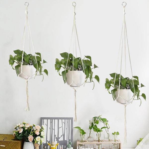 plantholderrope, Flowers, hangerflower, Garden