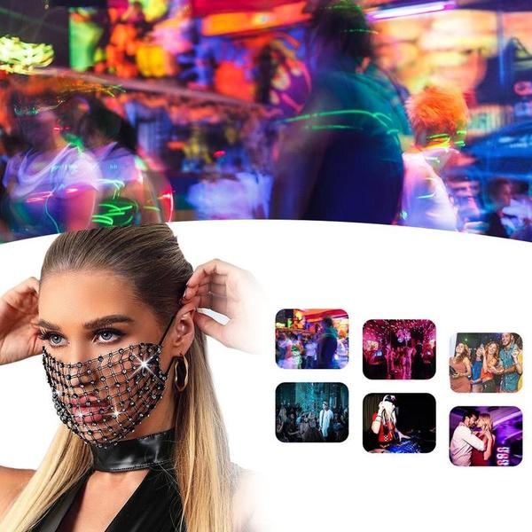 beautymask, DIAMOND, faceshield, Masquerade