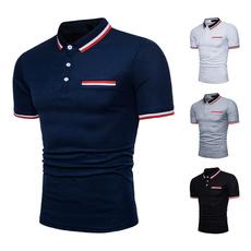 Summer, Fashion, men's cotton T-shirt, Sports & Outdoors