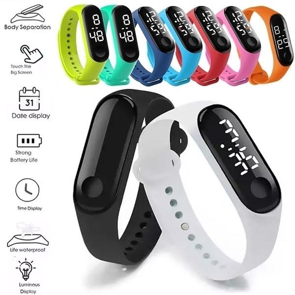LED Watch, Touch Screen, studentalarmclock, Yoga