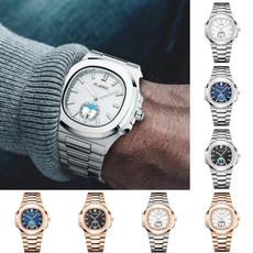 Chronograph, quartz, Waterproof, 18kgoldwatch