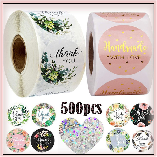 decoration, handmadegift, labelssticker, thankyousealsticker