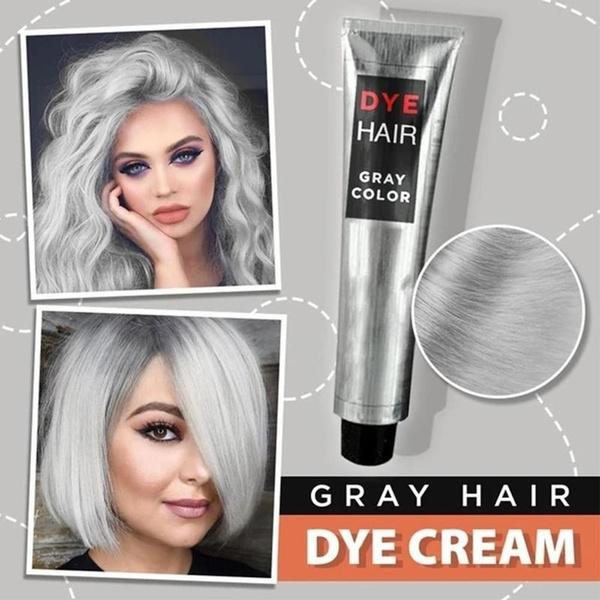 Gray, Fashion, dyehaircream, lightgrayhaircream