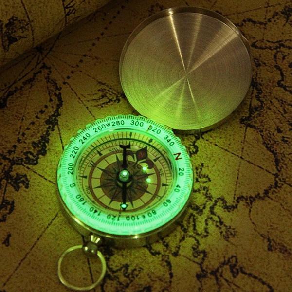 classicpocketwatchcompasscase, Brass, Outdoor, outdoorequipment