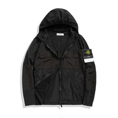 men coat, hooded, pittear, thinsection