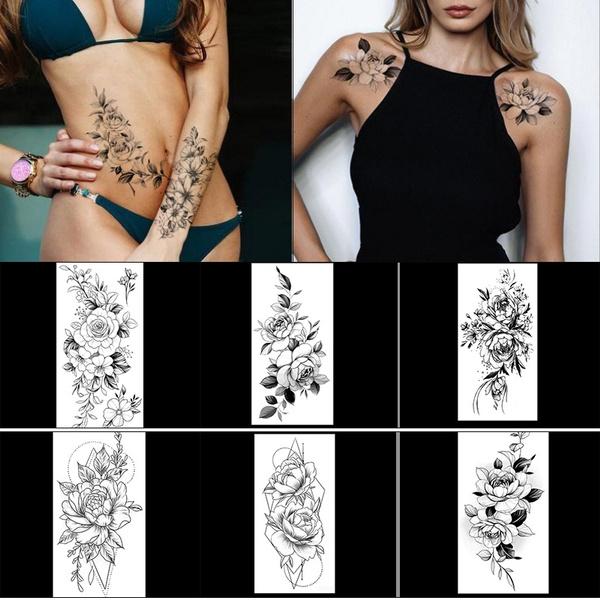 Fashion, faketattoosticker, Waterproof, Tattoo sticker