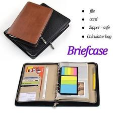 notebooksandjournal, pencilcase, leather, calculator