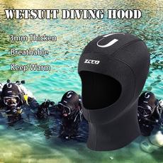 neoprenehat, Surfing, protectivecap, wetsuithood