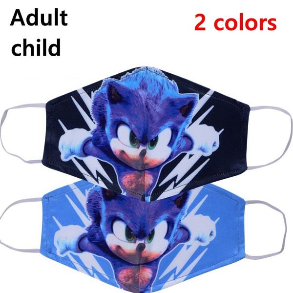 sonic, childrenmouthmask, printedmask, mouthfacemask