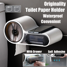 toiletpaperholder, Box, bathroomholder, wallmountedholder