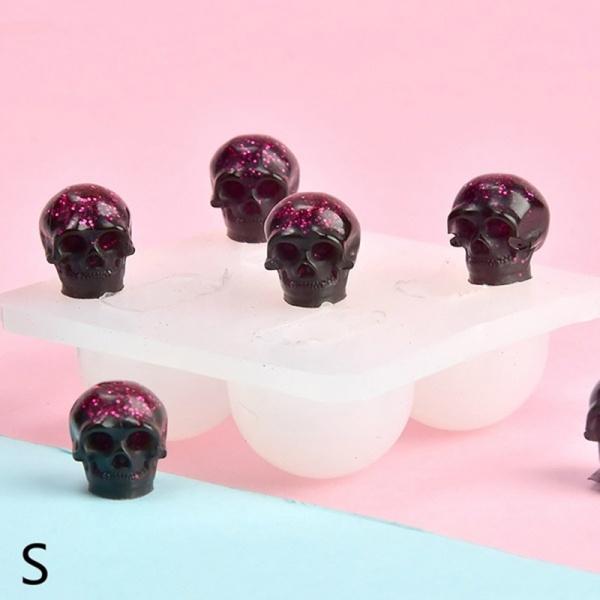 jewelrymakingtool, skullshapesiliconemold, skull, icecreammaker