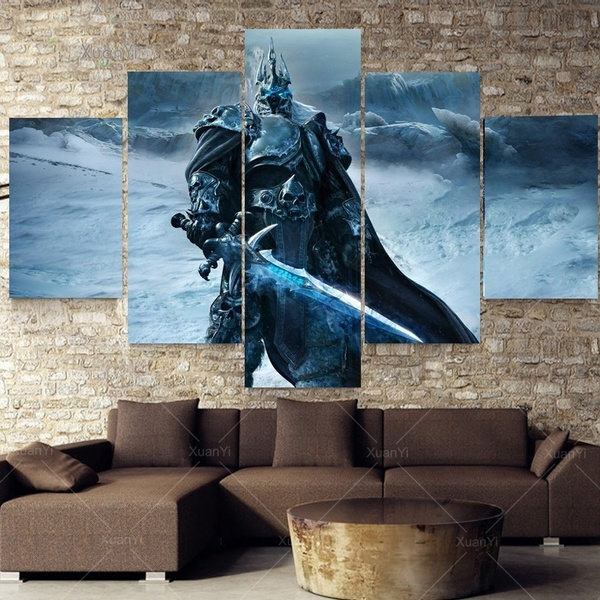 King, Decor, art, Home Decor