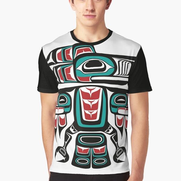 raven, T Shirts, summer t-shirts, 3D T-shirt