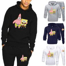 hooded, Sponge Bob, Sleeve, pants