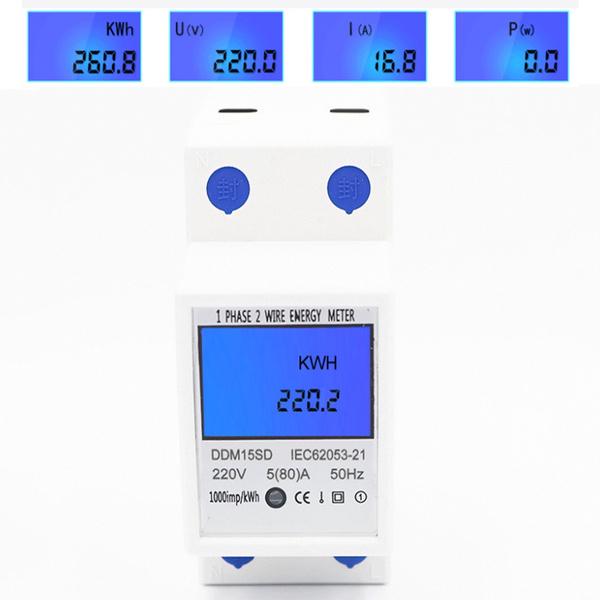 Test Equipment, Monitors, panelmeter, ddm15sd