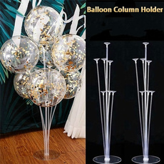 party, Decor, tableballoonstand, columnbase