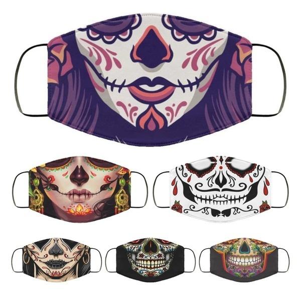 unisex, pumpkin, sugarsmask, Masks