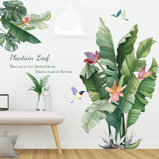 PVC wall stickers, roomsticker, Decor, Flowers