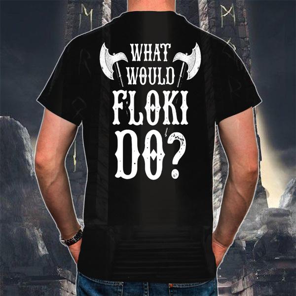 Fashion, vikingsign, floki, T Shirts