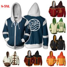 avatarthelastairbender, hooded sweater, airbender, Zip