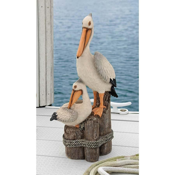 And, pelican, Decor, Garden