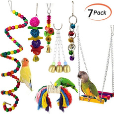 parrothangingtoy, Toy, Parrot, Bell