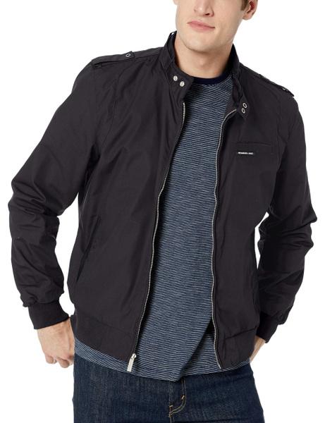 Jacket, black, Fashion, membersonly