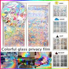 rainbow, selfadhesive, windowsticker, Home & Living