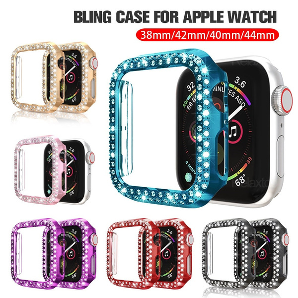 case, electroplatingdoublerowdiamond, DIAMOND, Apple