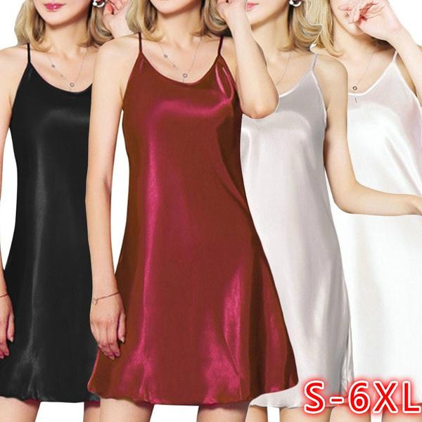 night dress, Plus Size, Mini, Dress