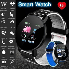 Heart, sports watch, Colorful, Fitness