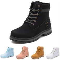 Fashion, leatherbootsforwomen, Combat, Hiking