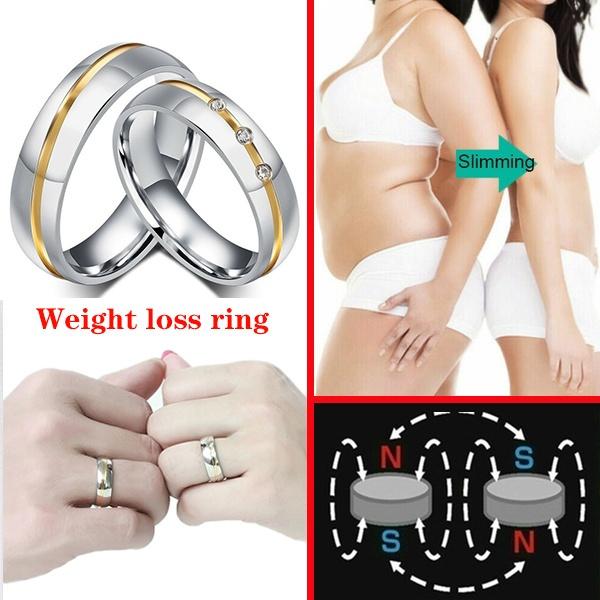 Couple Rings, Steel, weightlo, Yoga