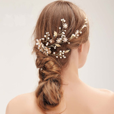 hair, Flowers, Jewelry, pearls