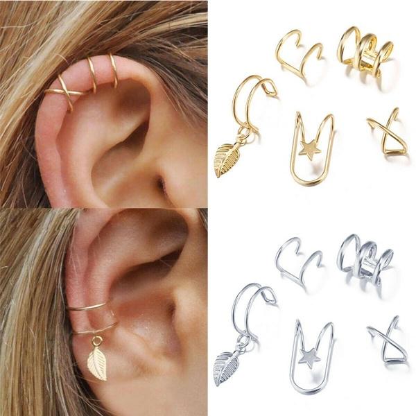 Jewelry, Gifts, earhook, goldsilver