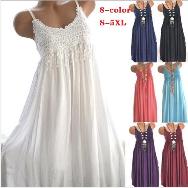 Fashion, Stitching, Lace, Dress