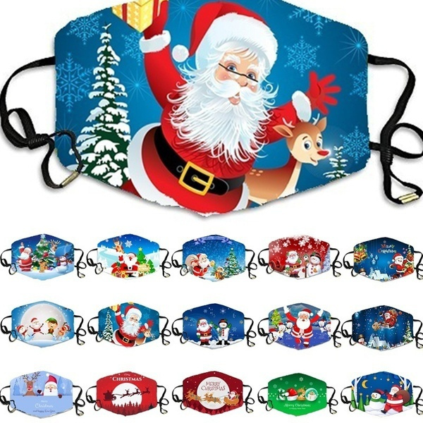 cartoonmask, festivalmask, Christmas, cute