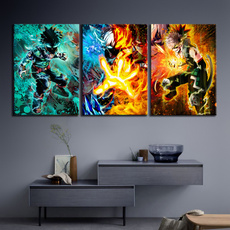 canvaswallart, myheroacademia, art, Home Decor