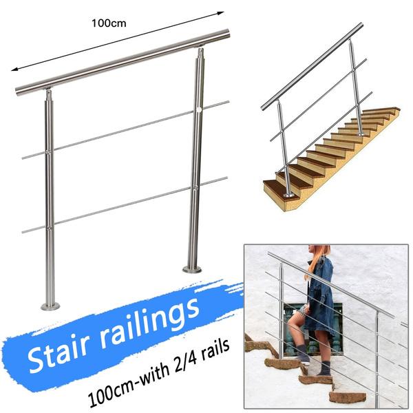 Steel, stairrailing, stair, handrail