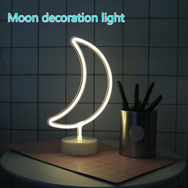 moondecorationlight, Home & Kitchen, Neon, Night Light
