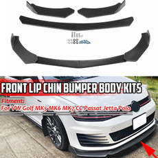 bumperspoiler, frontbumperlip, Golf, carbumperprotector