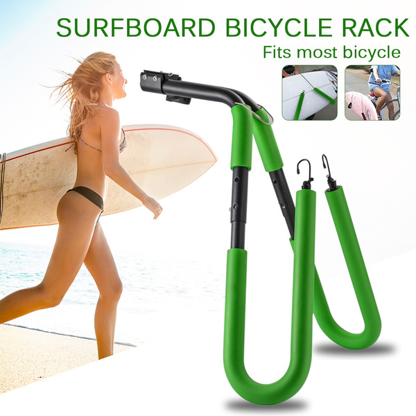 Bicycle Mount Surfboard Stand Rack Wakeboard Surfing Side Carrier Holder BU