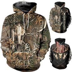Hoodies, Fashion, unisex clothing, Hunting