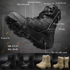 ankle boots, toolboot, Outdoor, Leather Boots