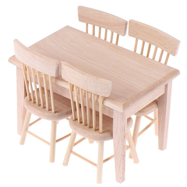 Set, Wooden, Home & Living, Dollhouse