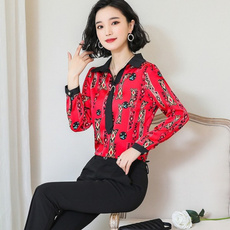 officetop, Plus Size, long sleeved shirt, Long Sleeve